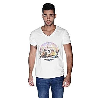 Creo Palestine T-Shirt For Men - L, White