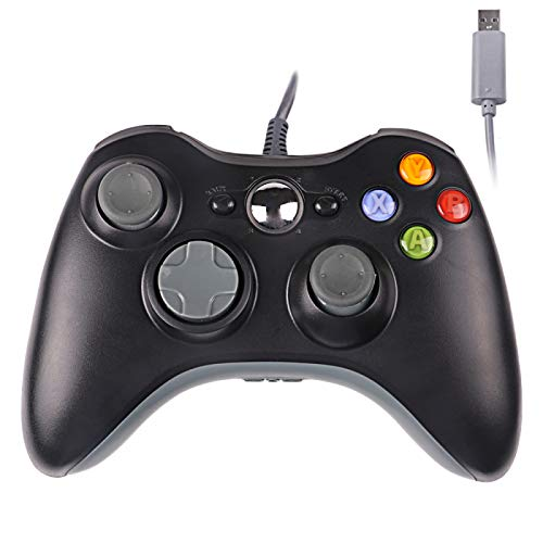 Xbox 360 Wired Controller,USB Wired Controller Gamepad for Microsoft Xbox 360,PC Windowns,XP,Vista,Win7
