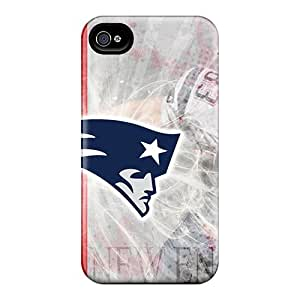 High Impact Dirt/shock Proof Case Cover For Iphone 4/4s (new England Patriots)