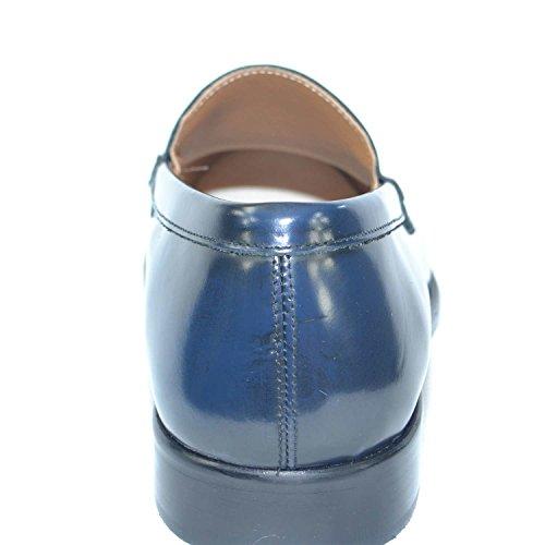 Liscio Leather Genuine Fondo Scarpe Classico Italy Mocassini Sportivo Vera Made Abrasivato Pelle Inglese College Uomo in qCCTBwI