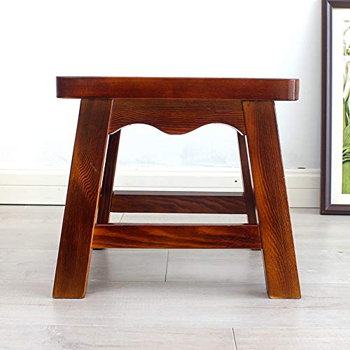 Stool - Shoe Bench, Living Room Solid Wood Sofa Bench, Household Coffee Table Stool/Small Square Stool by StoolStool (Image #2)
