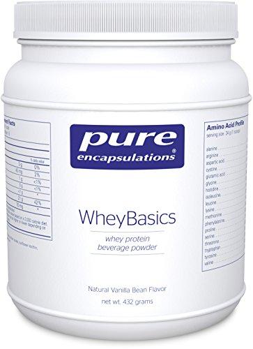 Pure Encapsulations WheyBasics Beverage Nutritional