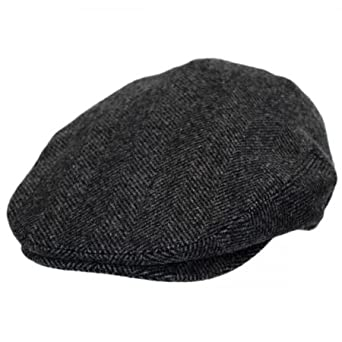 e1effc1f2 Baskerville Hat Company Coombe Herringbone English Wool Ivy Cap at ...