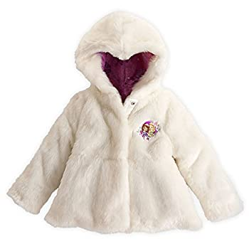 Disney Retailer Sofia The First Reversible Fake Fur Coat Jacket Dimension S Small 5-6 5T White