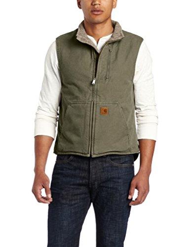 carhartt-mens-sherpa-lined-sandstone-mock-neck-vest-v33army-greensmall