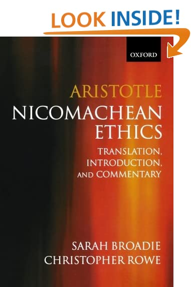 The Nicomachean Ethics Penguin Classics