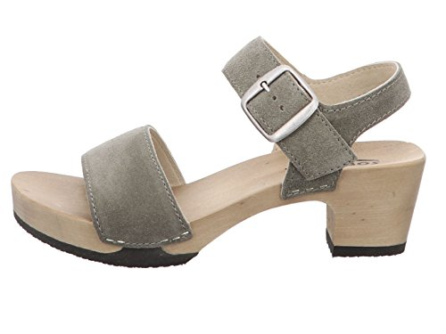 Sandalo Donna Softclox Kea Oliva Verde S338008 Verde 261740