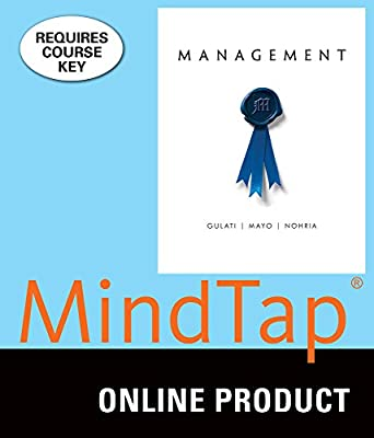 MindTap V2 Management Online Courseware to Accompany Gulati/Mayo/Nohria's Management, 1st Edition, [Instant Access], 1 term (6 months)