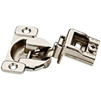 Brainerd/Liberty HDW 840204 Nickel Plated 35 mm 105 Degree 1-1/4 Overlay Hinge by Brainerd/Liberty HDW