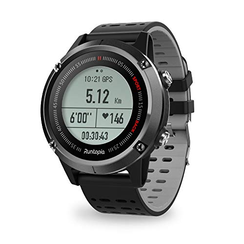 Buy runtopia S1 Outdoor Running GPS Smart Watch with Heart Rate Monitor, GPS Tracking and Super Long...