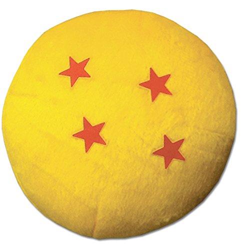 "GE Animation Dragon Ball Z 3.5"" #4 Star Stuffed Plush"