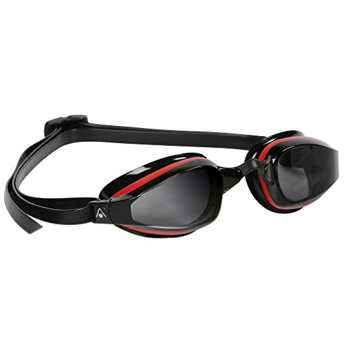 MP Michael Phelps K180 Goggle Smoke Lens Red/Black