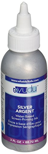 Yudu 3 Ounce Ink, Silver - Yudu Ink