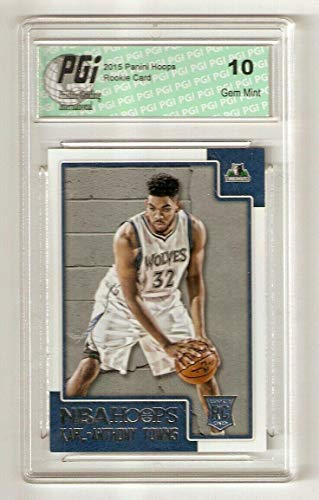 Karl-Anthony Towns 2015 Panini Hoops #289 Rookie Card PGI 10 Wolves - Basketball Slabbed Rookie Cards from Sports Memorabilia
