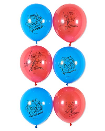 American Greetings Spider Man Balloons, 6-Count -
