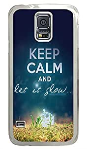 Keep Calm 73 PC Transparent Hard Case Cover Skin For Samsung Galaxy S5 I9600