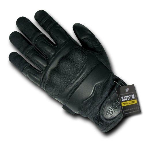 RAPDOM Tactical Attacker Level 5 Gloves, Black, Large - Level Glove Flash