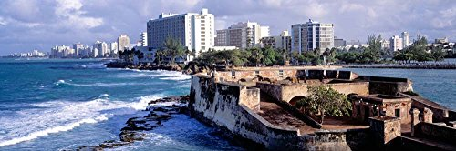 (San Jeronimo Fort, San Juan, Puerto Rico by Panoramic Images Art Print, 33 x 11 inches)