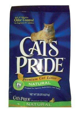 Cat's Pride Natural Cat Litter, 20 lb. bag (Cats 20 Lb Bag)