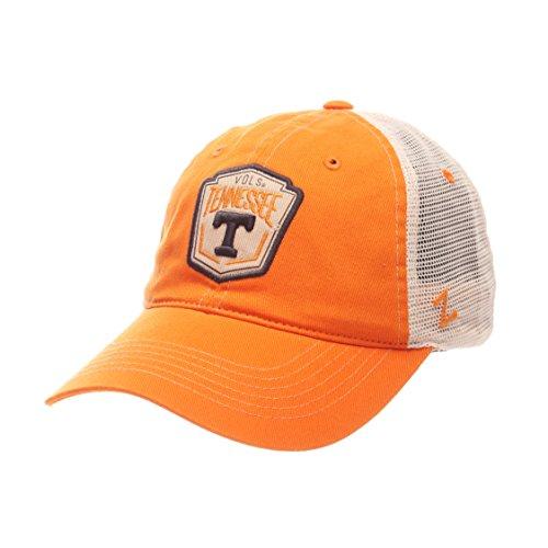 協力的私たちのもの忘れるZephyr NCAAテネシーボランティアCrestメッシュ調節可能な帽子