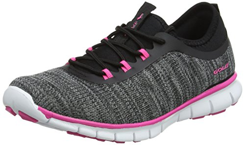 Fitness Femmes noir Lovana De Pour Gola Chaussures Noir Rose XSEAn