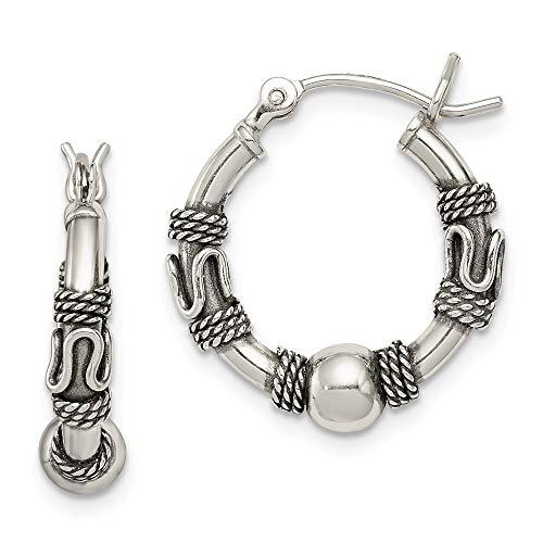 (925 Sterling Silver Hoop Earrings Ear Hoops Set Fine Jewelry Gifts For Women For Her)
