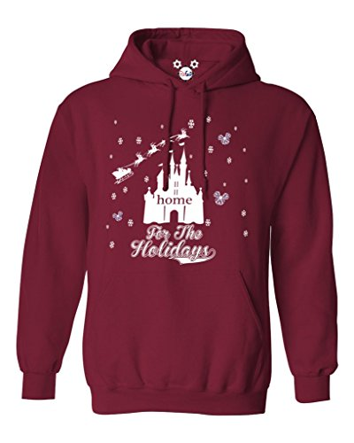 DisGear Disney Parks Home for The Holidays Unisex Character Hoodie for Women