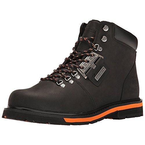 666fe0f99378 Harley Davidson Mens Templin Black Orange Leather Boots 11 US - Buy Online  in UAE.