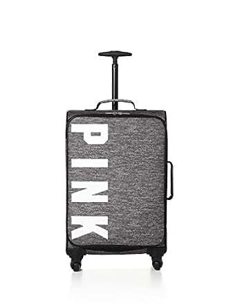 Amazon.com   Victorias Secret Pink Wheelie Suitcase Carry