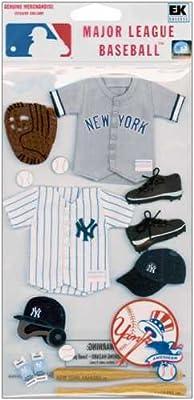 Jolee's Major League Baseball Stickers-new York Yankees