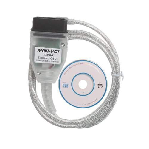 Mini VCI V13.00.022 Single Cable for Toyota Support Toyota TIS OEM Diagnostic Software by Generic (Image #5)