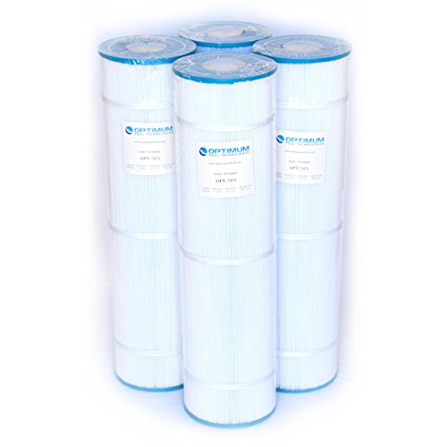 Pool Filter 4 Pack Replacement for Pentair Clean & Clear Plus 420; 105 SQ.FT. Cartridge Element