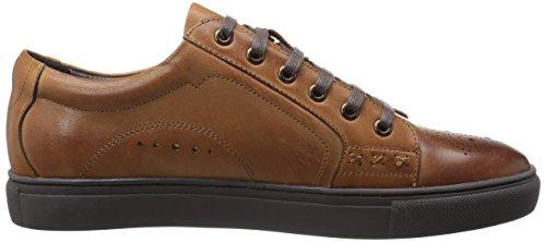 Zanzara Hommes Tambour Mode Sneaker Cognac