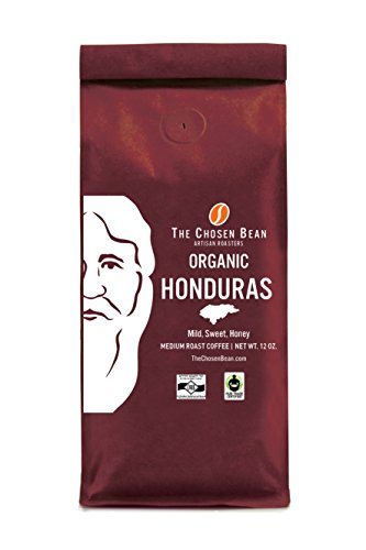Organic Fair Trade Honduras Single Origin Fresh Roast-to-Order Premium Coffee Ground Coffee 12 Ounce