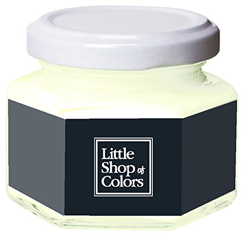Little Shop of Colors WP010CCL24 Woodpaint Pot de Peinture Bois 100 ml Black Hat