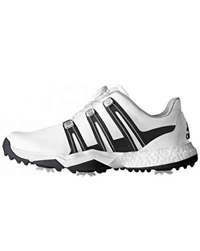 huge selection of af422 1a7f1 Adidas Powerband Boa Boost Wd, Zapatos de Golf Hombre, BlancoNegroPlata