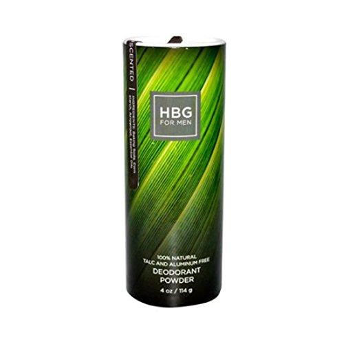 Honeybee Gardens for Men, Unscented Deodorant Powder