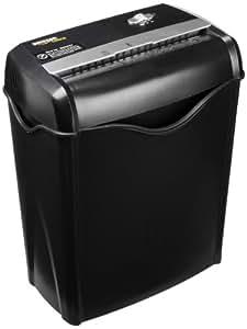 AmazonBasics - Destructora de papel y tarjetas de crédito con recipiente separable (corte cruzado, capacidad de hasta 6 hojas)