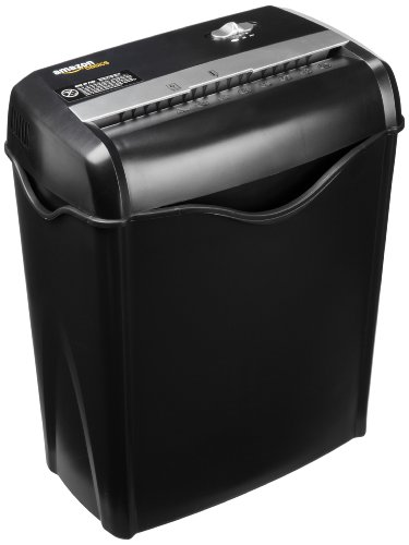 AmazonBasics 6-Sheet Cross-Cut Paper and Credit Card Shredder