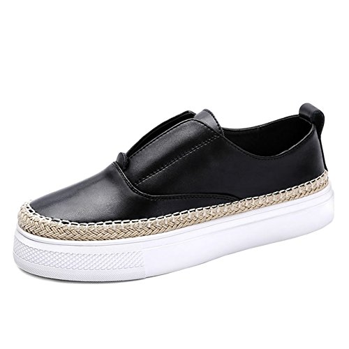 Zapatos de otoño/las mujeres zapatos de pescador/Mujeres zapatos casuales/Versión coreana de los zapatos de fondo plano/Le Fu, zapatos cómodos B