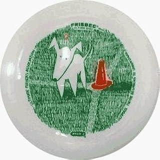 Wham-O Ultimate Frisbee Dog avec Cône