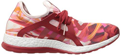 Adidas Performance Boost Pure X Zapatilla deportiva, negro / shock verde / negro, 5,5 M con nosotros Power Red/Power Red/Half Pink