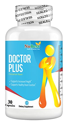 - Doctor Plus - Maximum Natural Height Growth Pill-Height Increase Supplement-Grow Taller Pills with Nanometer Calcium - Doctor Recommended - 30 Veggie Capsules