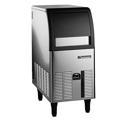 (Scotsman CU0515GA Self Contained Gourmet Ice Maker, Air Condenser, 84 lb. Production, 24 lb. Storage)