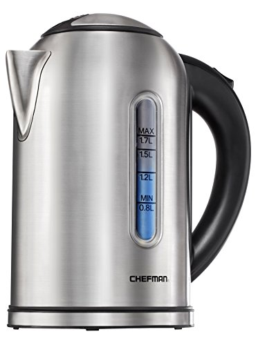 Chefman Cordless Electric Stainless Protection