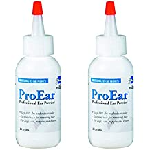 Ear Powder Hair Remover for Dogs and Cats 2 Pack for Ear Hygiene from Top Performance