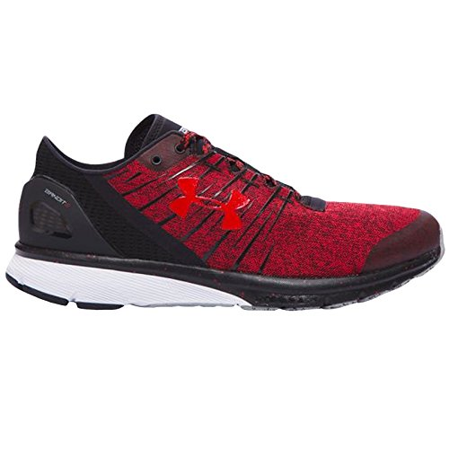 Under Armour Men`s Charged Bandit 2 Running Shoes, 10.5, RED/ BLACK