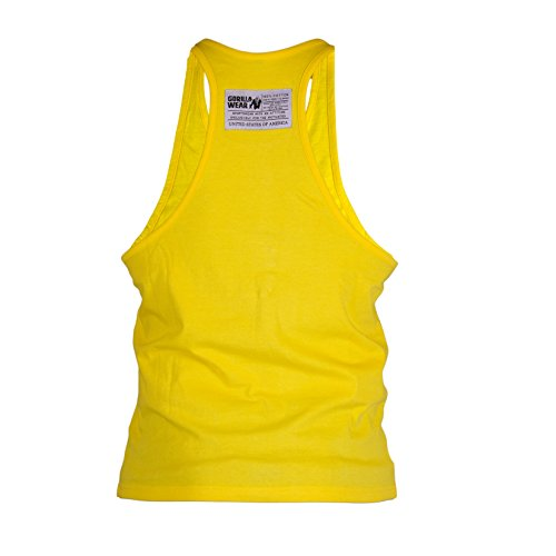 Gorilla Wear Classic Tank Top Yellow - gelb - Bodybuilding und Fitness Bekleidung Herren