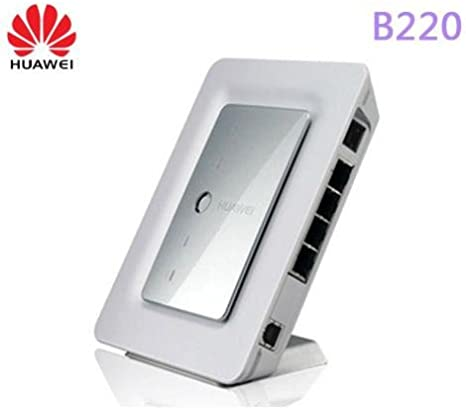 HSUPA/HSDPA UMTS Wifi Router con conexión antena + GSM Gateway: Huawei B220