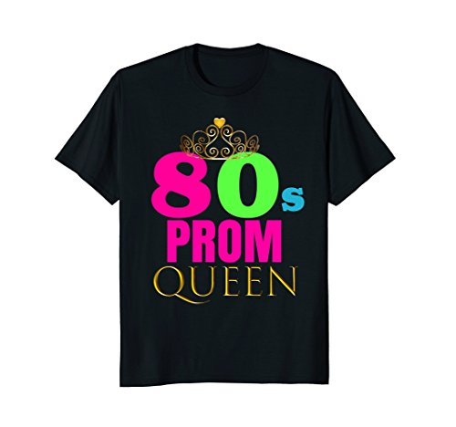 Costume 1980s Party Theme Ideas (CUTE: Neon 80s Prom Queen Retro Party Shirt Outfit Gift)